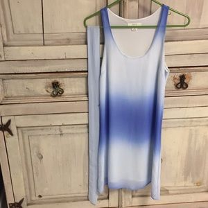 🌿 3/$20 Forever 21 blue ombré flowy dress